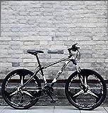 QZ 26 Pulgadas de Bicicletas de montaña, Doble Freno de Disco Trek Bicicletas, Marco de aleación de Aluminio/Ruedas, la Velocidad de Motos de Nieve Beach Bicycl