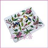 灰皿, 東南アジアの熱帯雨林クリエイティブホーム手描きセラミック灰皿灰皿中国のジャンクはディスク、ジェイド牡丹の花チューバ、色を骨盤:いいえ。タバコ (Color : Large Birds)