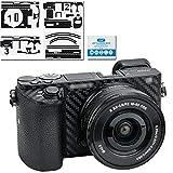 Adhesivo Protector para cámara Sony Alpha a6000 + Kit de Lentes de 16 a 50 mm, cámara...