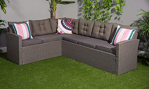 YAKOE-R8CSD11R-NTX-Outdoors-Rattan-Corner-Garden-Furniture-Sofa-8-Seater-with-Bench-Dining