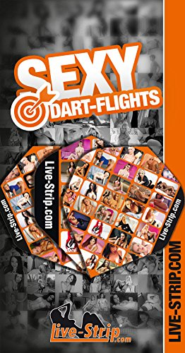 9 Dart-Flights | Standard Form | Dart-Pfeile | Live-Strip