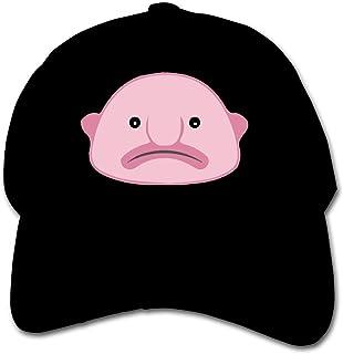 ADGoods Kids Children Sad Pink Blobfish Baseball Cap Adjustable Trucker Cap Sun Visor Hat For Boys Girls Gorra de béisbol ...