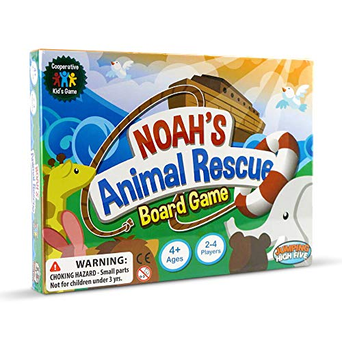 Noah's Animal Rescue Board Game! The #1 Cooperative Matching Game for Kids...