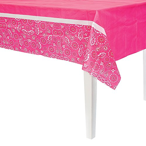 Top bandana tablecloth pink for 2020