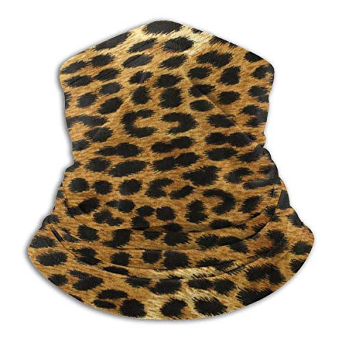 Famiglistimo Halswärmer / Gesichtsmaske mit tropischem Tiermotiv, aus Mikrofaser, Kopftuch und Mütze