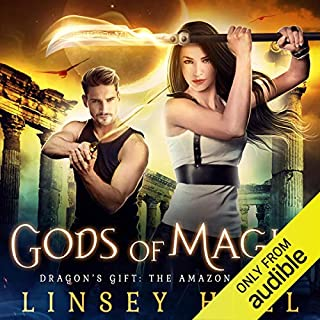 Gods of Magic (Dragon's Gift: The Amazon) audiobook cover art
