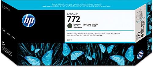 HP CN635A Cartucho de Tinta para DesignJet Z 5200 PS/5400 PS ePrinter, 300 ml, Negro
