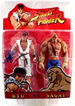 Street Fighter ToyFare Exclusive Ryu & Sagat Blood Version Action Figures 2-Pack