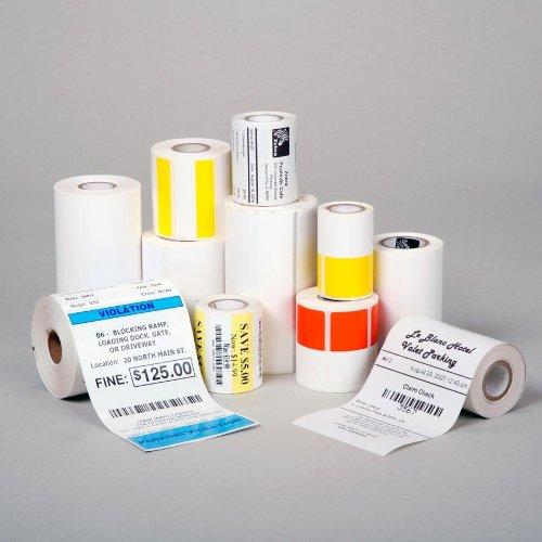 Zebra Z-Select 2000D 190 Tag, Etikettenrolle, Thermopapier, 32x57mm, Premium beschichtet, 600 Etiketten/Rolle, perforiert, mit Loch, Verpackungseinheit: 12 Stück, 800999-005