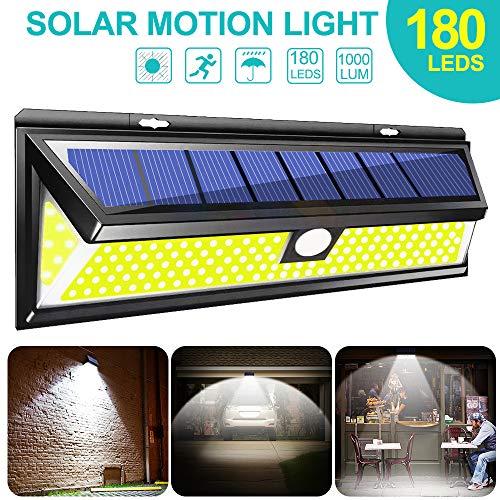 180 LED zonnelicht COB 3 modi bewegingsmelder wandlamp solar outdoor waterdicht energiebesparing tuin terras veiligheidsverlichting