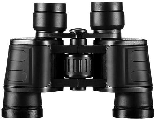 QHY Télescope, Jumelles 10X42 Télescope Haute Puissance HD,Noir,A