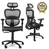 Mysuntown Office Mesh Chair, Ergonomic Task Chair with...
