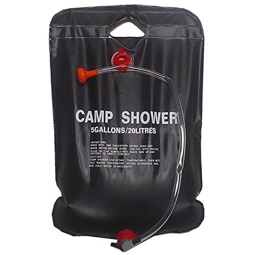 MFH douche solaire 20 L//Camping Douche mobile Douche-Extérieur Camping Biwak