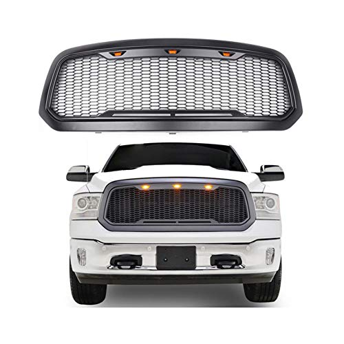 Cqing Car grille gemodificeerd Dodge Ram grille Amerikaanse pickup grille omgezet in 13-17 modellen