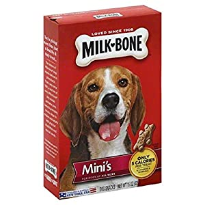 2 Pack – Milk-Bone Mini's Original Dog Treats, 15-oz box