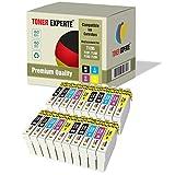 Pack 20 XL TONER EXPERTE Compatibles T1285 Cartouches d'encre pour Epson Stylus S22...