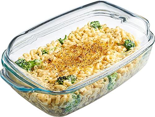 Glass heat-resistant oven dish - Naczynie żaroodporne szklane