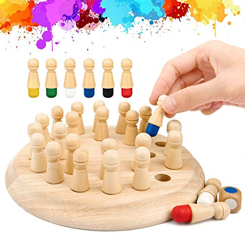 Wowok Memory Matchstick Chess Game,…