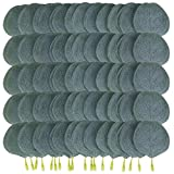 Ancefine 300 Pieces Artificial Eucalyptus Leaves Bulk Fake Greenery Green Leaves for DIY Wreath Wedding Boutonnieres Corsages Baby Shower Cake Flower Decorations
