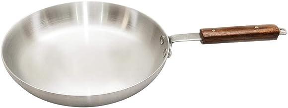 Raj Aluminum Frying Pan, Silver-RAFP13