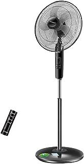 WYNZYYX Pedestal Fan Standing Fan with Remote,Oscillating Pedestal Fan, 8 Hours Timing,16 Inch Floor Fan,for Home and Office