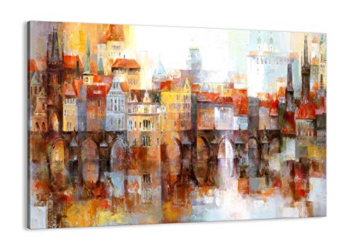 ARTTOR Cuadros Modernos Baratos - Lienzos Decorativos - Cuadros Decoracion Salon - Tríptico De Pared - Muchos Tamaños y Varios Temas Gráficos - AA100x70-3476