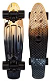 Penny Graphic Skateboard - Black Gold 22'