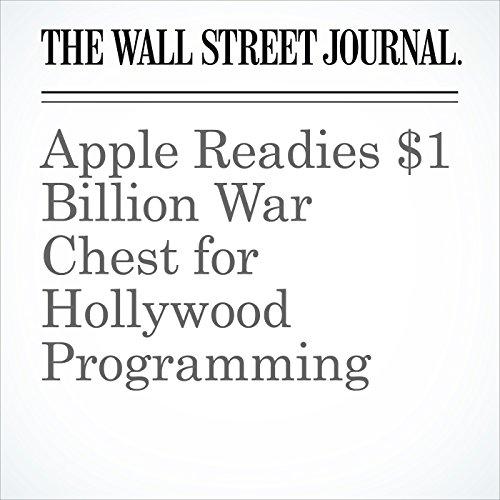Apple Readies $1 Billion War Chest for Hollywood Programming copertina