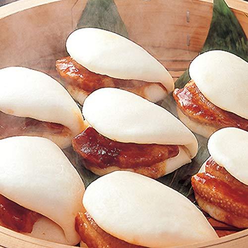 [餃子の王国]角煮まん 90g×2個 角煮 タレ ふわふわ 生地 ボリューム 豚角煮 レンジ 簡単