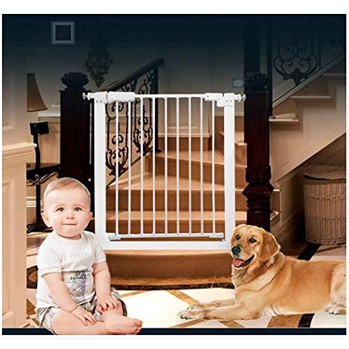 FCXBQ Baby Gate Telescopico Porta per Animali da Compagnia Bar Recinzione per Cani Recinzione per ringhiera per Cani da Interno Recinzione per Cani di Piccola Taglia Grande Chiusura Automatica (Co