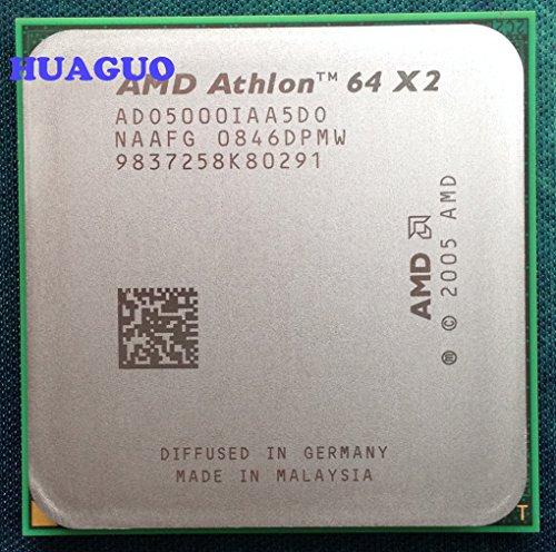 AMD Athlon 64X25000+ ado5000iaa5do 2.6GHz Dual-Core procesador 1MB L2de caché, 65W, socket...