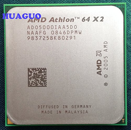 AMD Athlon 64 X2 5000 + ado5000iaa5do 2.6 GHz Dual-Core procesador 1 MB L2 de caché, 65 W, socket am2