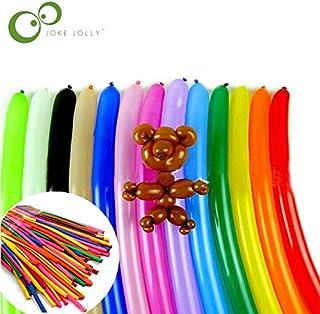 100pcs/bag 18cm/29cm Mixed Color Traditional Twisting Latex Long Magic Balloons Wedding Birthday