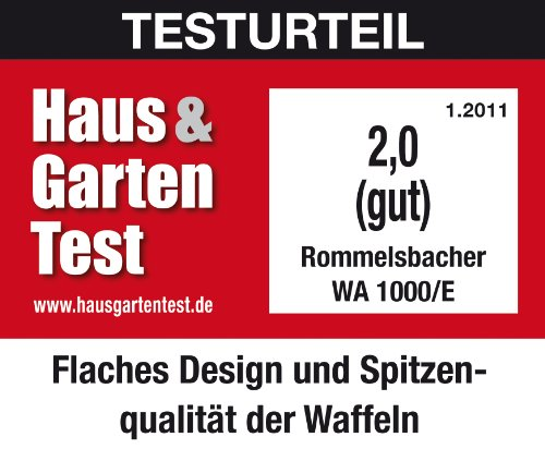 Rommelsbacher Waffeleisen - 7
