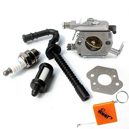 HURI Vergaser Kit für Stihl 021 023 025 MS210 MS230 MS250 Motorsäge Ersetzt Zama C1Q-S11E C1Q-S11G Walbro WT-286 1123-120-0603