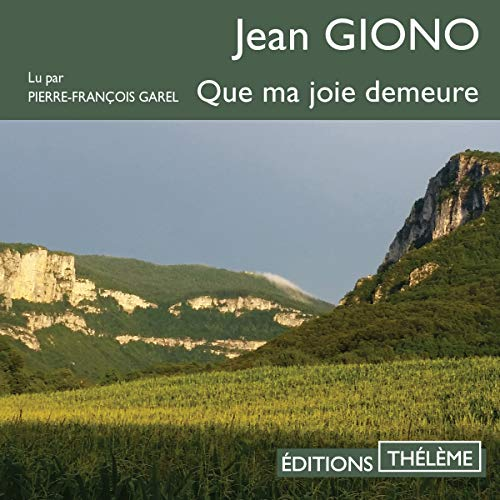 Que ma joie demeure audiobook cover art