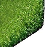 NOOYC Gazon Artificiel pour Chiens Pee Pads, Vert Alpage Support en Caoutchouc Artificial Grass Turf 20 mm Haute Densité Gazon synthétique intérieur et extérieur Jardin,2x2m/6x6ft
