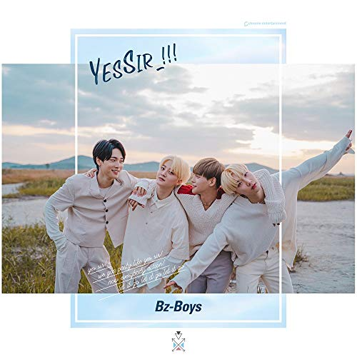 GENIE MUSIC 靑空少年 Bz-Boys - Blue (2nd Single Album) CD+48p...