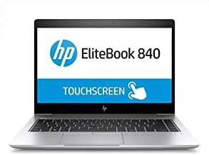 HP EliteBook 840 G5 Touchscreen Notebook, Intel Core i7-8650U, 32GB RAM, 1TB SSD, Windows 10 Pro 64-Bit (1M6X5UW#ABA)