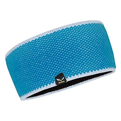 Salewa Puez Wool Headband Blau, Kopfbedeckung, Größe One Size - Farbe Hawaiian Blue