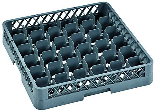 Spülkorb für Gläser/Tassen Gastronomie Spülmaschine Dish Rack, Ausführung wählbar (Gläserkorb mit 36 Einteilungen)