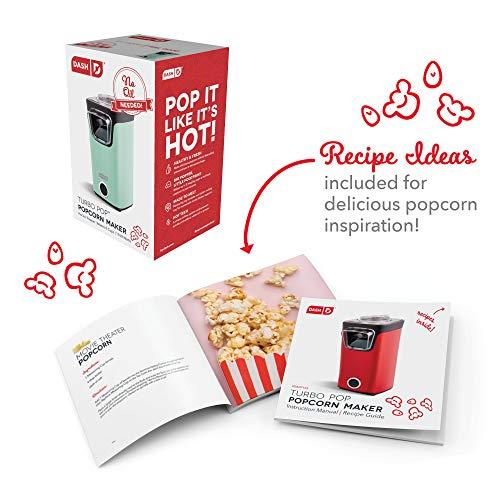 Product Image 6: DASH DAPP155GBAQ06 Turbo POP Popcorn Maker, 8 Cups, Aqua