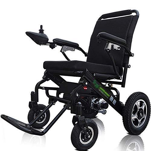 Inicio Accesorios Silla de ruedas eléctrica plegable para personas mayores y discapacitados y silla de ruedas eléctrica liviana de 25 kg Soporte de pasamanos abatible con joystick de 360 gra