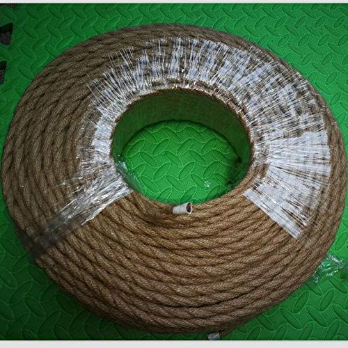 Xxf-dianxian. 3m, 5m, 10m Cuerda 2x0.75MM vendimia alambre trenzado de cable Cable...