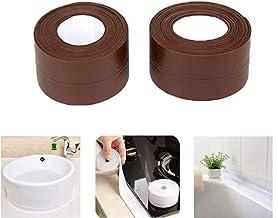 fregadero lavabo cinta adhesiva transparente para ba/ño inodoro y pared cocina resistente al agua y al moho ducha Cinta adhesiva multifuncional no residual para uso en interiores o exteriores