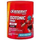 ENERVIT SPORT Isotonic Drink - Bebida isotónica en polvo de electrolitos para deportes de resistencia, bebida isotónica para uso regular en el deporte (naranja, lata de 420 g)