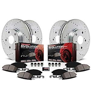 Z23 Evolution Sport Carbon-Fiber Ceramic Rear Brake Pads Power Stop Z23-279