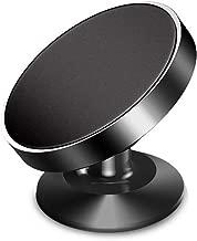 Magnetic Phone Car Mount GPS or Light Tablet One Hand Dash Mount Car Holder for iPhone Samsung Phone Holder Magnetic Phone Mount for Car(Black)