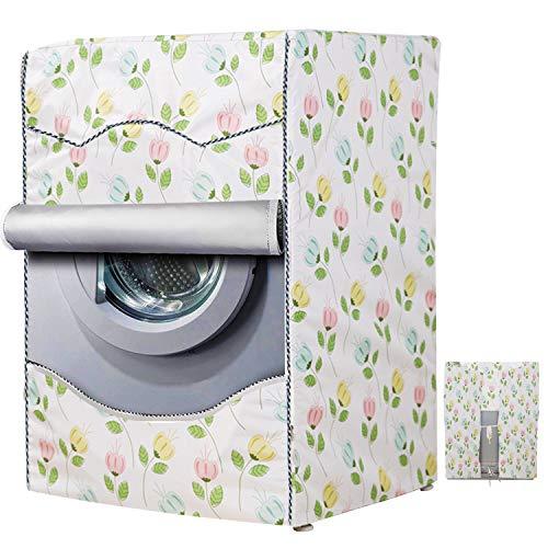 Wasserdichte Waschmaschine und Schutz für Waschmaschine (Fawn,60 x 85 x 60 cm)