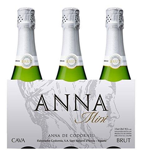 Anna Codorniu - Cava - Pack 3 botellas x 20 cl